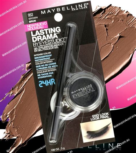 Maybelline Lasting Drama Liner Gel maybelline eye studio lasting drama gel eyeliner pot by