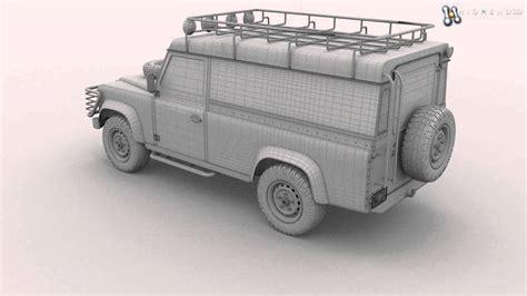Land Rover Kaos 3d Umakuka land rover defender 110 top 3d model from