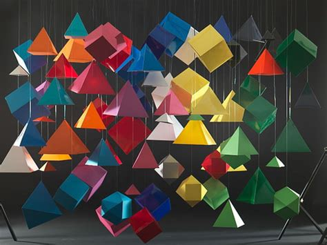 Paper Folding 3d Shapes - geometric paper shapes jonathan ford graphic design