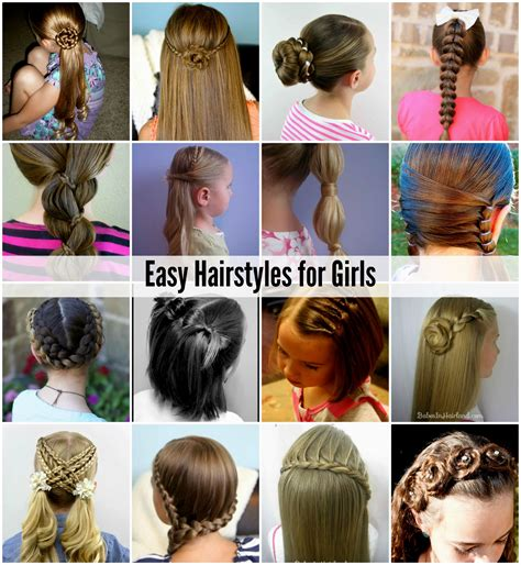 hairstyles for girls easy easy hairstyles girls hairstyles ideas