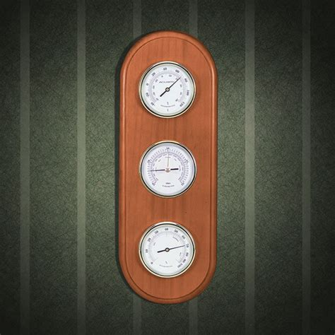 acurite 01523 tahoe honey pine analog weather station