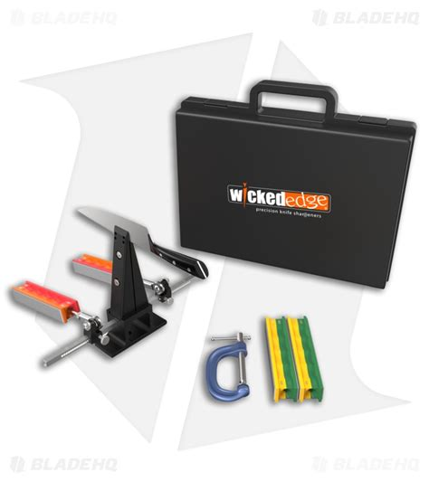 wicked edge field sport  knife sharpening system