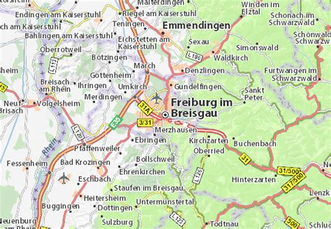 map of freiburg map of freiburg im breisgau michelin freiburg im