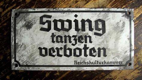 swing tanzen verboten zu verkaufen swing tanzen verboten scheisshausfund