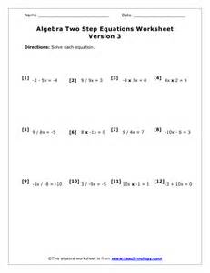 2 step equations worksheets abitlikethis