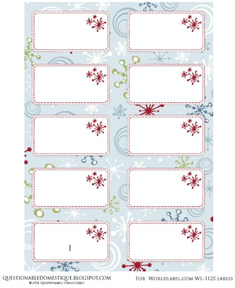 holiday labels envelope wrap tags by