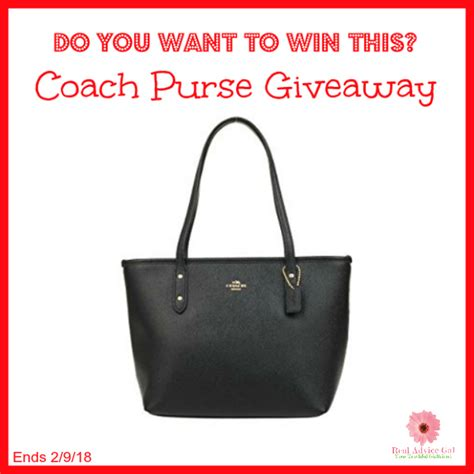 Purse Giveaway - february coach purse giveaway it s free at last bloglovin