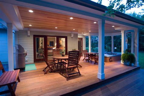Luxury Deck Remodel with Hot Tub Jacuzzi   Traditional   Deck   philadelphia   by Penn
