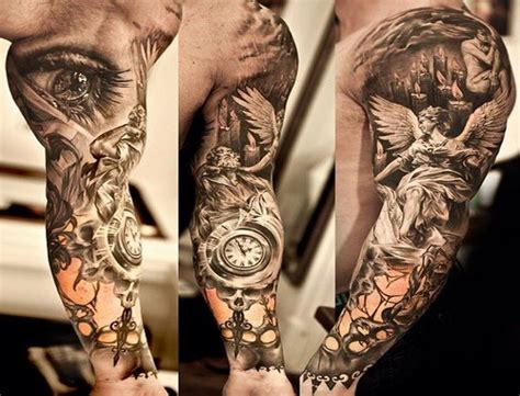 cool tattoo sleeve ideas for men cool sleeve tattoos best design