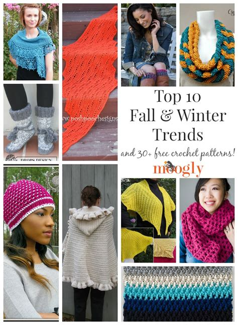 Best Trends For This Fallwinter Right From Runaway Gucci by The Top 10 Seasonal Trends And 30 Free Crochet Patterns
