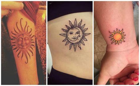 imagenes de tatuajes de soles tatuajes de soles y su significado que iluminar 225 n tu piel