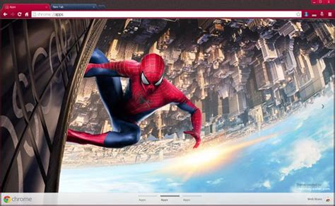 theme google chrome spiderman 17 best images about chrome themes on pinterest