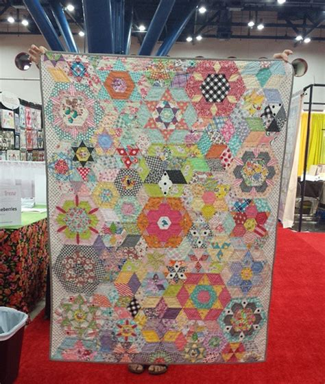 The Quilt by Sew Fabric The Smitten Quilt Along All The