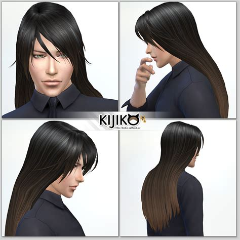 long hairstyles for men sims 4 long male hair sims 4 gallery