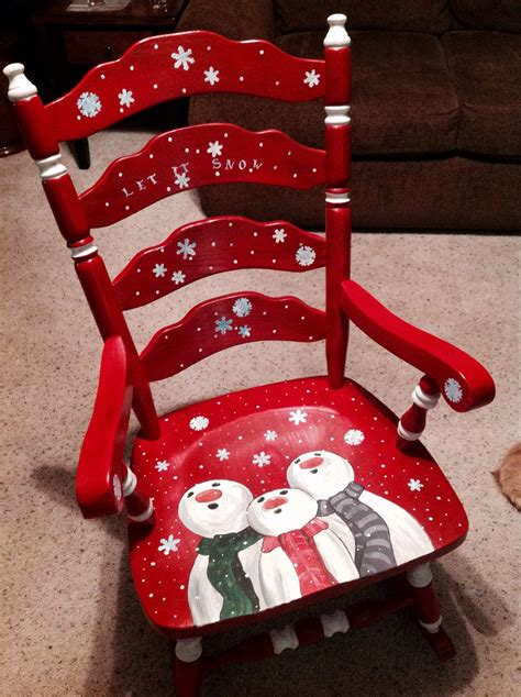 painted chairs  holiday themes dixcies painted worldtheres     talented