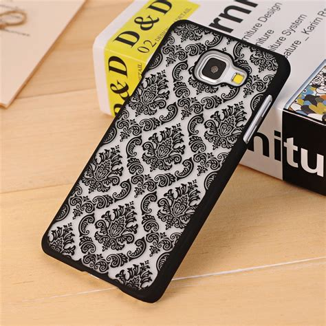 Floral Motif Iring For Samsung J5 J7 Prime 2016 aliexpress buy vintage damask flower pattern pc cover for samsung galaxy a3 a5 a7