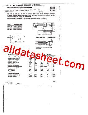 d965 transistor vergleichstyp q62702 d965 datasheet pdf siemens semiconductor