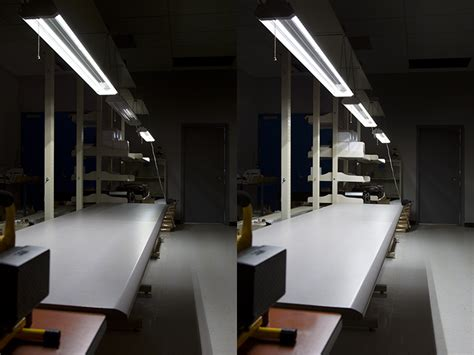 linkable led lights 42w linkable led shop light garage light w pull chain 4
