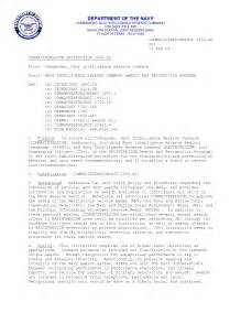 Navy Ombudsman Appointment Letter Standard Naval Letter Format Best Template Collection
