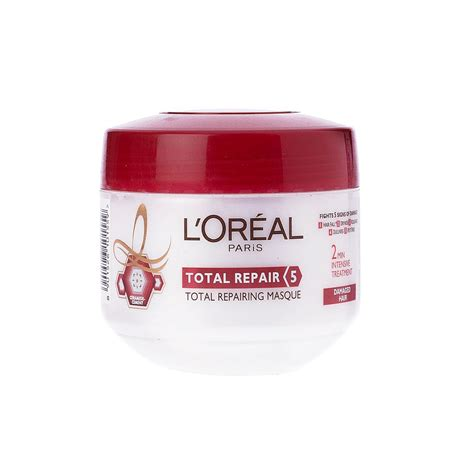 Loreal Hair Mask hair mask loreal total repair 5 hair masque review hair
