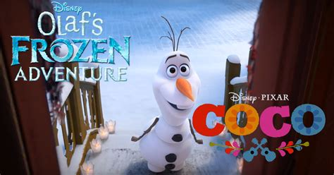 film coco awalnya frozen disney s olaf s frozen adventure featurette to be paired