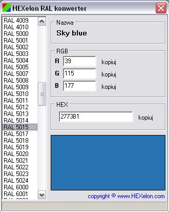 color converter rgb to ral converter free copblogs