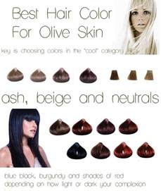 best colors for olive skin hair color olive skin ash beige neutrals burgundy blue