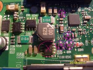 Bq24721c Bq 24721c 1 toshiba satellite a215 s7437 nie działa bez baterii
