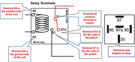 87a relay wiring diagram 12 volt relay wiring diagram 5
