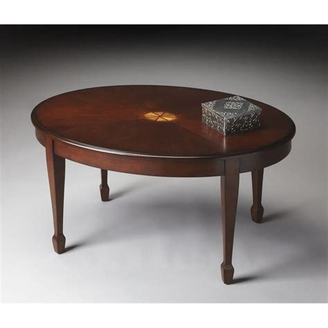 butler specialty cocktail table in plantation cherry 1234024