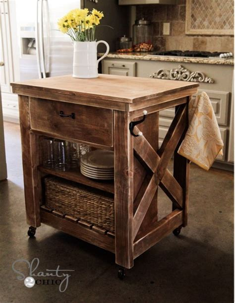 25 best ideas about rolling kitchen island on