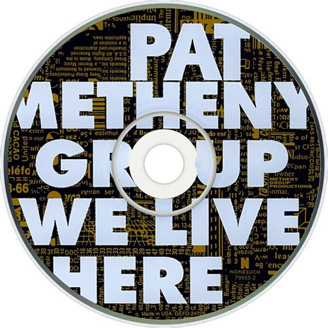 Cd Import Pat Metheny We Live Here pat metheny fanart fanart tv
