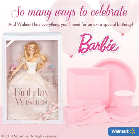 Barbie Giveaways For Birthday - barbie birthday party planning guide free with barbie birthday wishes doll giveaway