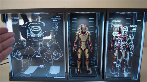 toys box iron man hall armor sh figuarts