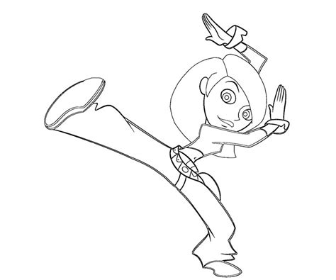 Kim Possible Picture Az Coloring Pages Possible Coloring Pages