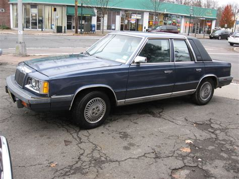 87 Chrysler Lebaron by 1987 Chrysler Lebaron Information And Photos Momentcar