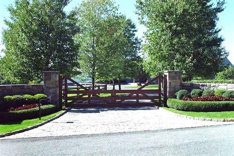 modern driveway gates wooden driveway gates tri state gate