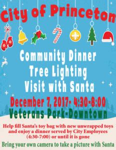 princeton tree lighting 2017 tree lighting community dinner pictures with