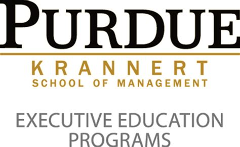 Purdue Executive Mba Program by Executive Mba Rankings Best Midwest United States Emba