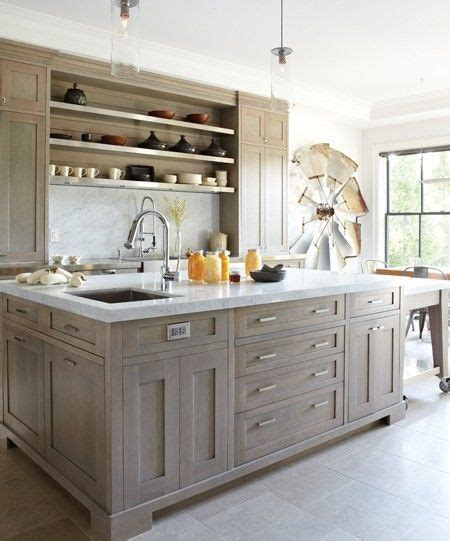 grey stained kitchen cabinets gray stain oak kitchen cabinet google search nesting