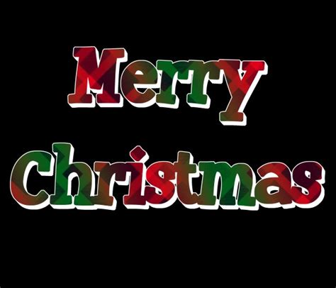 merry christmas red green plaid  stock photo public domain pictures