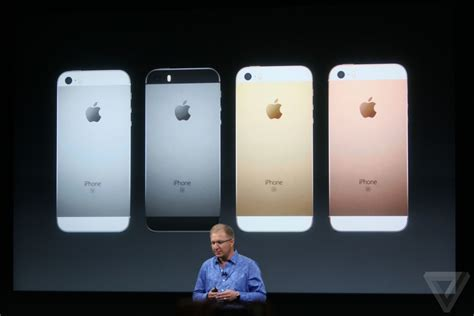 apple iphone se event    important announcements  verge