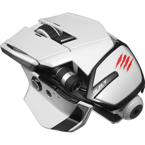 Mouse Mad Catz mad catz office r a t wireless mouse white mcb437240001 04 1