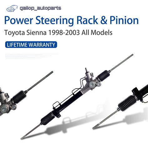 Rack And Pinion Symptoms by Toyota Complete Power Steering Rack And Pinion