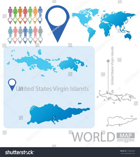 us islands vector map united states islands world map vector