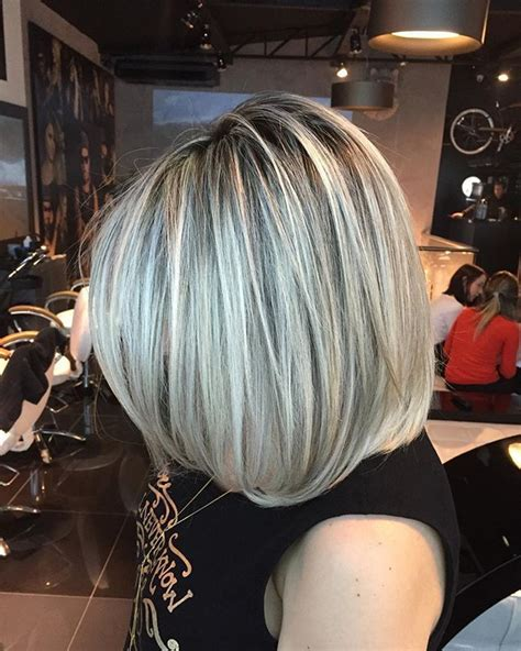 pictures of frosted grey hair 26 best frosted images on pinterest short hair hair
