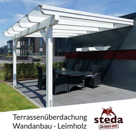 Terrassendach Vsg by Terrassen 252 Berdachung Holz Mit Vsg 10 Mm Glas