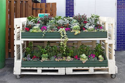 pallet garden container container gardening archives michigan bulb michigan