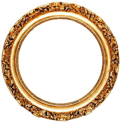 golden  frame png transparent