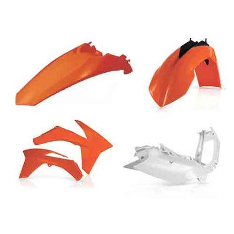 Ktm Plastic Kits Acerbis Plastic Kit Ktm Exc Exc F Xc W Xcf W Original